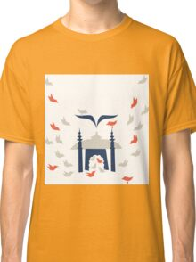 Home (Gray, Navy and Orange) Classic T-Shirt