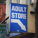 Adult Bookstore by Jonesyinc