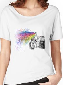 colour photo Women's Relaxed Fit T-Shirt