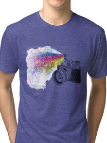 colour photo Tri-blend T-Shirt