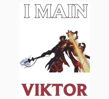 I main Victor - League of Legends One Piece - Short Sleeve