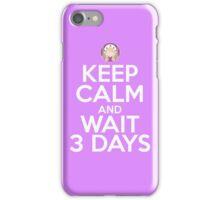 3 Days iPhone Case/Skin