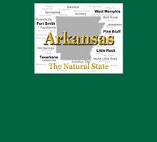 Arkansas State Pride Map Silhouette  Unisex T-Shirt