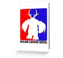 Major League Druid: Boomkin Greeting Card