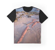 Auldhame Red Graphic T-Shirt