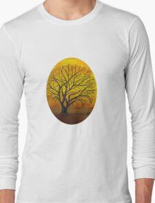 Rural sunset Long Sleeve T-Shirt