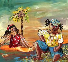 Stranded In Tahiti by Goodaboom