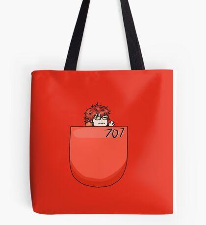Pocket pal - 707  Tote Bag