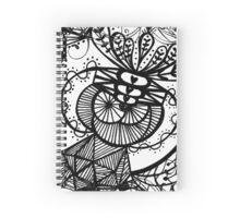 Abstract Sketch Art Spiral Notebook