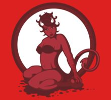 Devil Woman Pin Up by pufahl