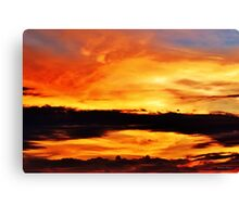 Reflection in the Sky Canvas Print