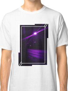 Purple Street at Night Classic T-Shirt
