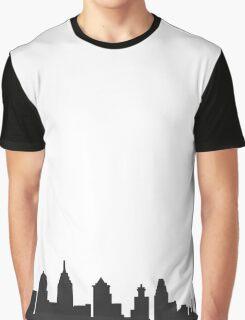 philadelphia PA philly skyline Graphic T-Shirt