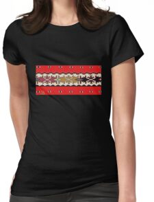 Old Serbian pattern Womens Fitted T-Shirt