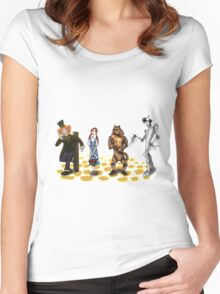 The Wizard of Oz Tim Burton Style Women's Fitted Scoop T-Shirt