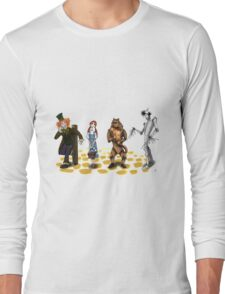 The Wizard of Oz Tim Burton Style Long Sleeve T-Shirt
