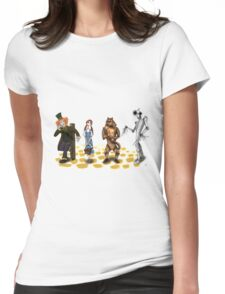 The Wizard of Oz Tim Burton Style Womens Fitted T-Shirt