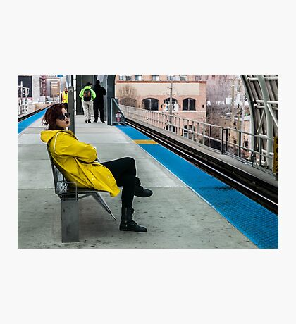 Waiting for the CTA Photographic Print