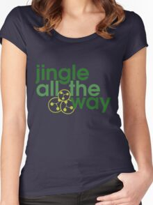 Jingle all the way Women's Fitted Scoop T-Shirt
