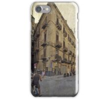 Streets of Palermo iPhone Case/Skin