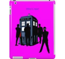 WHO'S NEXT  iPad Case/Skin