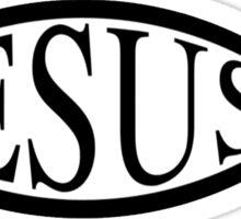 Christian fish 6 Sticker