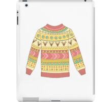 Cute cozy sweater iPad Case/Skin