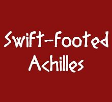 Swift-footed Achilles (White) by supalurve