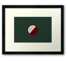 DRAMMEN Framed Print