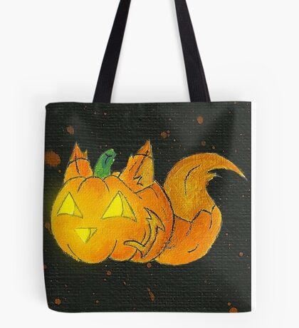 Wolf-o-Lantern Tote Bag