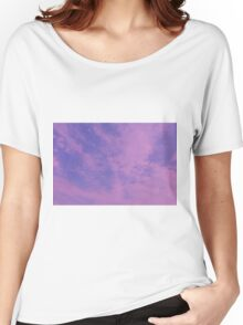 PINK CLOUDS.  Women's Relaxed Fit T-Shirt