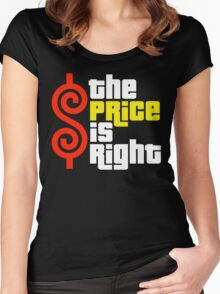 The Price Is Right Reality Show Women's Fitted Scoop T-Shirt