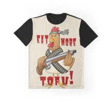Eat More Tofu Graphic T-Shirt
