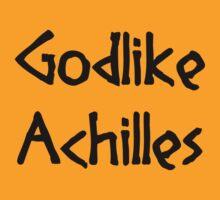 Godlike Achilles (Black) T-Shirt