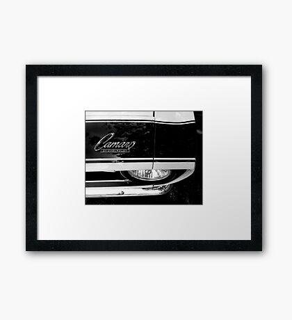 1968 Chevy Camaro - Detail Framed Print