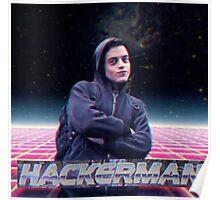 Hacker man Poster
