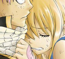 Natsu and Lucy Fairy Tail Sticker