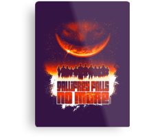 Gallifrey Falls No More (Gradient) Metal Print