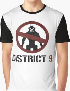 District 9 sign Graphic T-Shirt