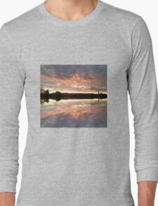 Sunset 700 mirror / reflection Long Sleeve T-Shirt