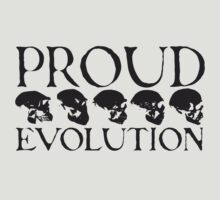 Proud Evolution Skull T-Shirt