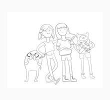 Stakes Adventure Time Print Kids Tee