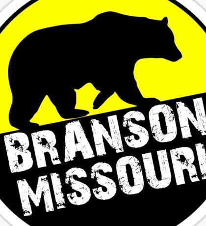 BRANSON MISSOURI OZARK MOUNTAINS BEAR Sticker
