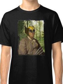 Wolverine + Ben Franklin Mash Up Classic T-Shirt
