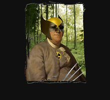 Wolverine + Ben Franklin Mash Up Unisex T-Shirt