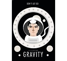 Gravity Illustration Photographic Print