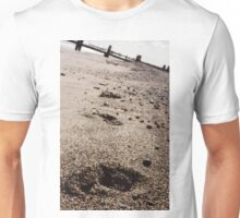 Pawprints in the Pebbles Unisex T-Shirt