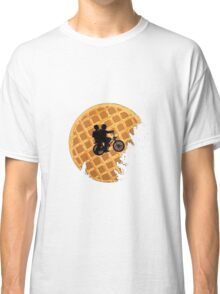 stranger things waffle moon Classic T-Shirt