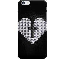 studded heart and cross iPhone Case/Skin