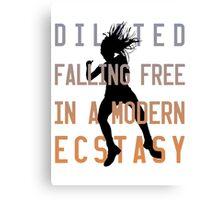 Modern Ecstasy // Perfect Illusion // Lady Gaga Canvas Print